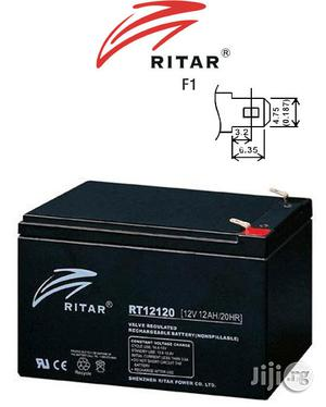 Ritar Rt12120 12V 12ah Sla Battery   Electrical Equipment for sale in Lagos State, Ikeja