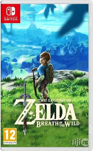 Zelda Breath Of The Wild Nintendo Switch | Video Game Consoles for sale in Lagos State, Ikeja
