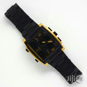 Skmei Mens Black Wristwatch   Watches for sale in Lagos State, Surulere