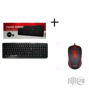 Havit Keyboard + Optical Mouse Combo | Computer Accessories  for sale in Lagos State, Ikeja