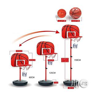 Adjustable Height Basket Ball Set For Kids | Toys for sale in Lagos State, Surulere