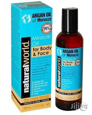 Miracle Argan Oil of Morocco for Even Skin Tone on the Face and Body   Skin Care for sale in Lagos State, Victoria Island
