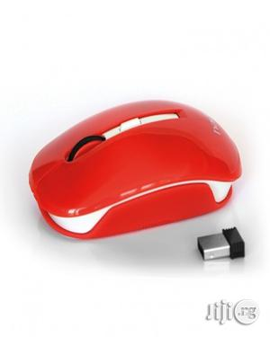 Havit USB Wireless Mouse - HV-MS980GT - Red   Computer Accessories  for sale in Lagos State, Shomolu