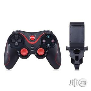 S5 Wireless Bluetooth Controller Game Pad With Holder   Accessories & Supplies for Electronics for sale in Lagos State, Shomolu