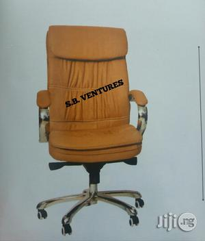 Office Brown Leather Chair   Furniture for sale in Lagos State, Isolo