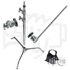 Heavy Duty Photography Studio Strobe / Studio Light C Stand   Accessories & Supplies for Electronics for sale in Lagos State, Lagos Island (Eko)