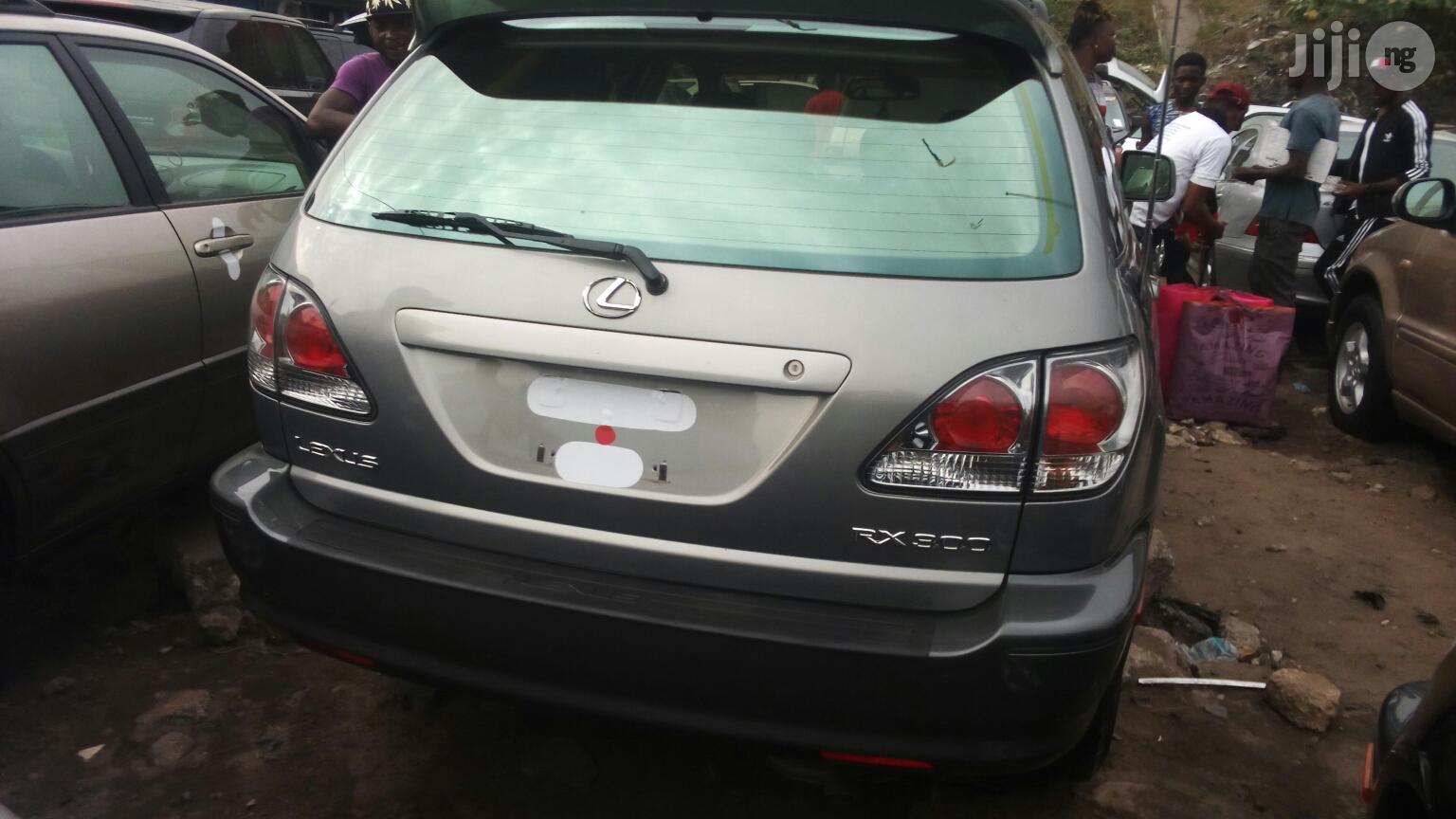 Archive: Lexus RX 2003 Silver