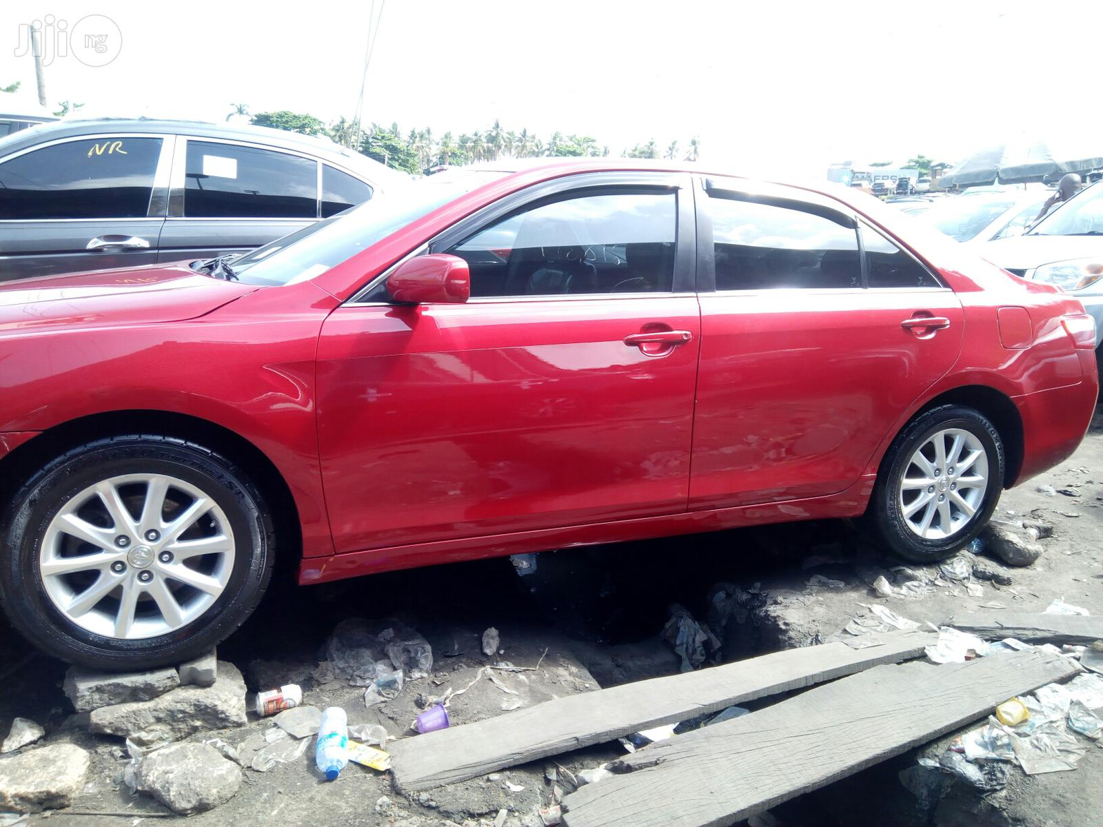 Toyota Camry 2008 2.4 LE Red   Cars for sale in Apapa, Lagos State, Nigeria