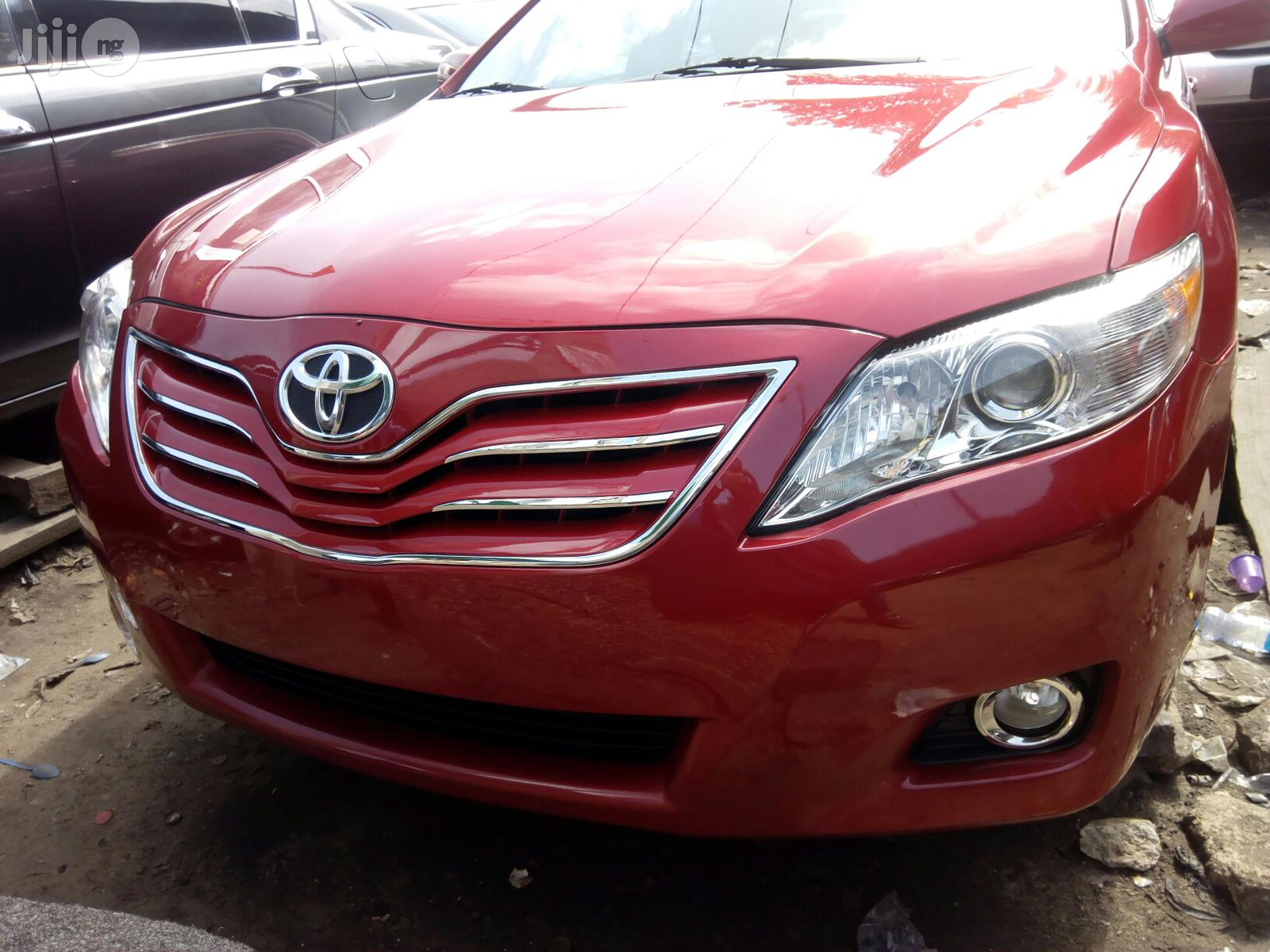 Toyota Camry 2008 2.4 LE Red