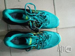 Wilson Long Tennis Canvas Shoe   Shoes for sale in Lagos State, Ikeja