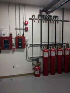 FM200 Fire Suppression System Installation Services