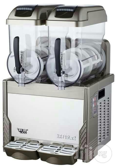 2-tank Slush Juice Dispenser Machine