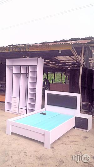 Bed With Closet Wardrobe   Furniture for sale in Lagos State, Lekki