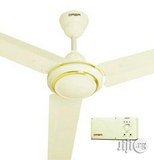 """Qasa Rechargeable Ceiling Fan 56""""   Home Appliances for sale in Lagos State, Ojo"""