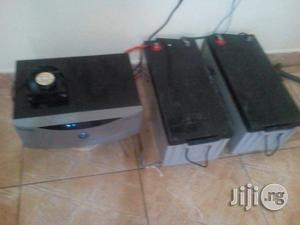 8 Hours Free Solar Electricity Daily Battery   Solar Energy for sale in Lagos State, Oshodi