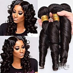 Hair Brazillian Romance Curls Human Hair - COL.1b/ 6bundles   Hair Beauty for sale in Lagos State, Lagos Island (Eko)