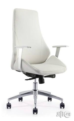 Italian White Executive Office Chair | Furniture for sale in Lagos State, Ojo