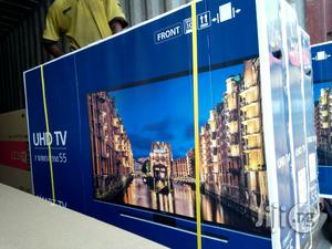 Samsung 55 Inches Tv Smart Led Made In Korea 2 Years Warranty | TV & DVD Equipment for sale in Lagos State, Ojo