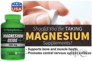 Magnesium For Heart, Nervous, Bone And Heart Health   Vitamins & Supplements for sale in Lagos State, Victoria Island
