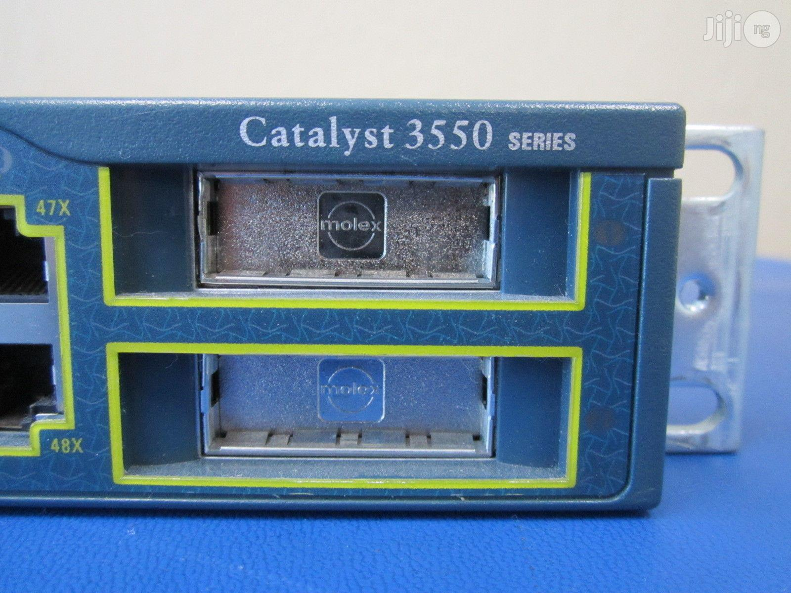 Cisco Catalyst WS-3550-48-SMI Switch   Networking Products for sale in Port-Harcourt, Rivers State, Nigeria