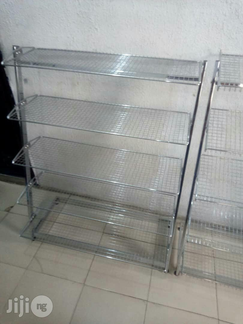 Archive: High Quality Supermarket Shelves And Pallet Racks