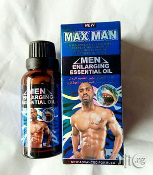 MAX MAN Men Enlarging Essential Oil -40ml   Skin Care for sale in Lagos State, Ojo
