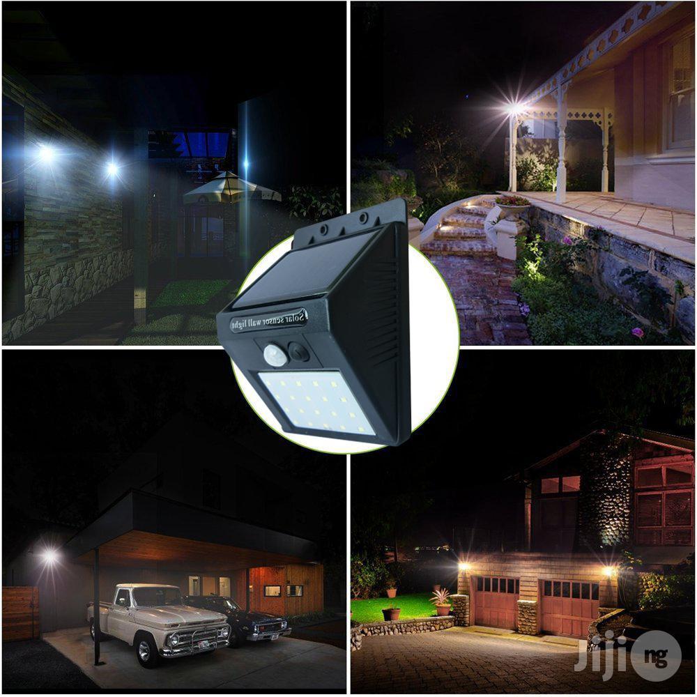 20 LED Solar Powered Motion Sensor Light. | Solar Energy for sale in Ikeja, Lagos State, Nigeria