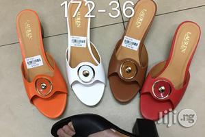 Classic Low Heel Slippers   Shoes for sale in Lagos State, Surulere