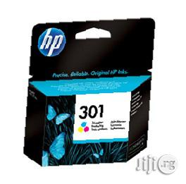 HP 301 Tri-Color Original Ink Cartridge   Accessories & Supplies for Electronics for sale in Lagos State, Ikeja
