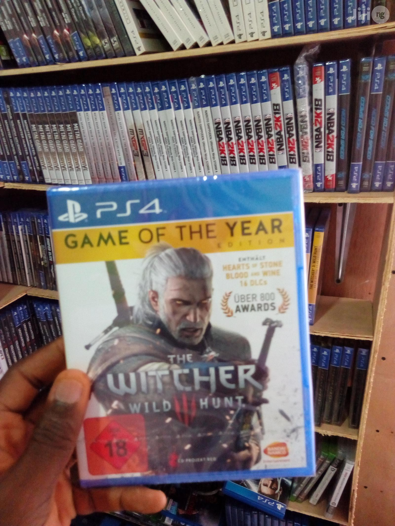 PS4 The Witcher 3: Wild Hunt - Complete Edition