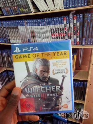 PS4 The Witcher 3: Wild Hunt - Complete Edition   Video Games for sale in Lagos State, Agege