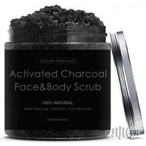 Jadole Activated Charcoal Face Body Scrub   Skin Care for sale in Lagos State