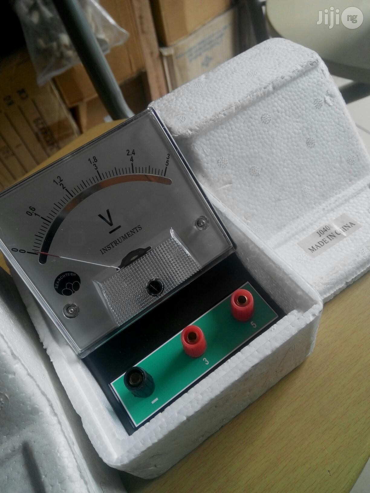 Voltmeter Dual Range   Manufacturing Equipment for sale in Port-Harcourt, Rivers State, Nigeria
