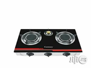 Century Glass Top Gas Stove Cgs 301-B (3 Burner) | Kitchen Appliances for sale in Lagos State, Ojo