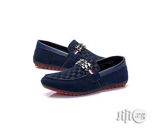 Fashion GQ All Occasion Classic Shoe With Chain - Blue | Shoes for sale in Lagos State, Agege