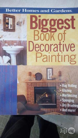 Book Of Decoration And Painting   Books & Games for sale in Lagos State, Yaba