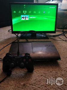 Mint Hacked Super Slim Ps3 Console With God Of War   Video Game Consoles for sale in Lagos State, Ikeja