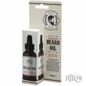 Jolly Good Grooming Natural Cedarwood Beard Oil 30ml | Hair Beauty for sale in Lagos State, Ojo