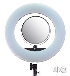 Bright Dimmable Ring Light With Mirrow 18 Inches   Accessories & Supplies for Electronics for sale in Lagos State, Lagos Island (Eko)