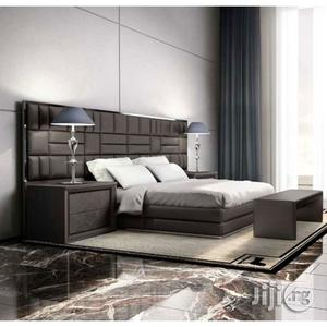 Ceaser Leather Upholstered Bed | Furniture for sale in Lagos State