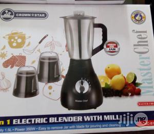 3-1 Master Chef Stainless Blender   Kitchen Appliances for sale in Lagos State, Lagos Island (Eko)