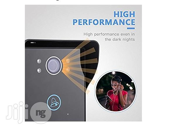 Mecor WIFI Video Doorbell Wireless Remote Unlock With Motion Detection Night Vision | Home Appliances for sale in Ikeja, Lagos State, Nigeria
