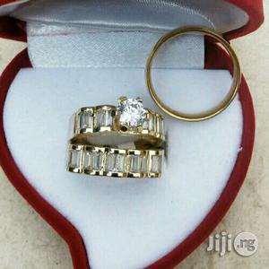 Xup Gold Romania Wedding Rings | Wedding Wear & Accessories for sale in Lagos State, Lekki