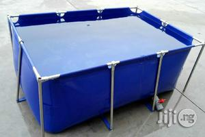 Collapsible Mobile Tarpaulin Fish Pond | Farm Machinery & Equipment for sale in Abuja (FCT) State, Dutse-Alhaji