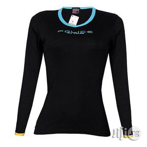 Police G.273 Bodygirl Black Medium Printed Long Sleeve T-shirt | Clothing for sale in Lagos State, Surulere