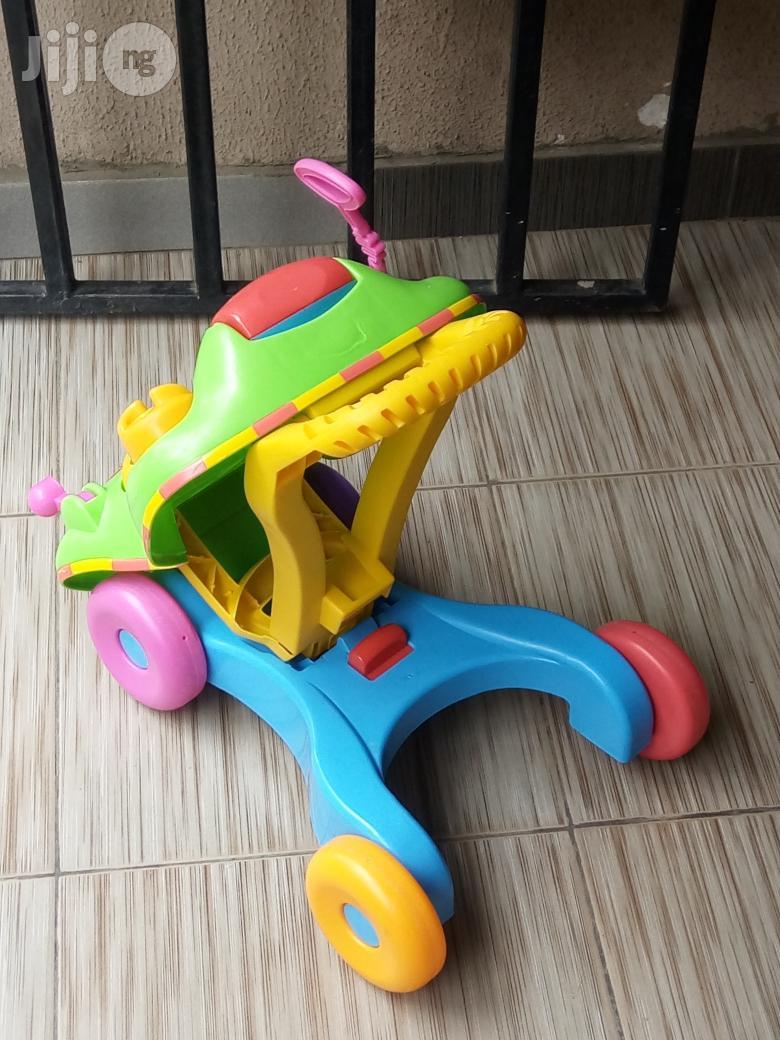Tokunbo UK Used 2in1 Baby Learning Walker