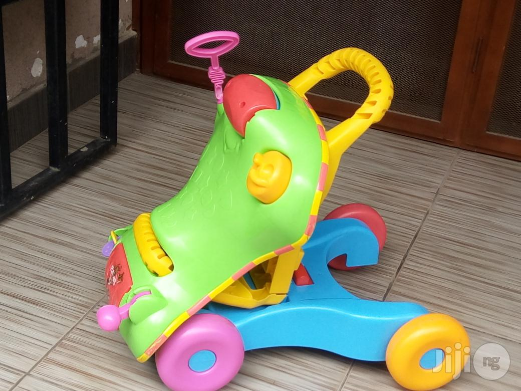 Tokunbo UK Used 2in1 Baby Learning Walker | Children's Gear & Safety for sale in Lagos State, Nigeria