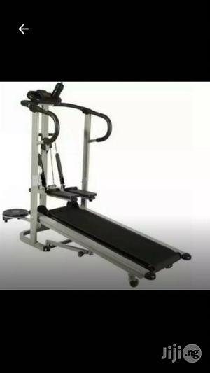 Manual Treadmill With Stepper and Twister.   Sports Equipment for sale in Lagos State, Ajah