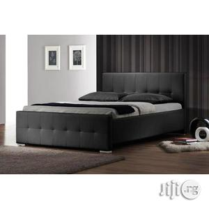 Peerless Modern Leather Bed Frame | Furniture for sale in Lagos State