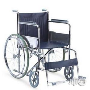 Wheelchair Foldable | Medical Supplies & Equipment for sale in Lagos State, Mushin